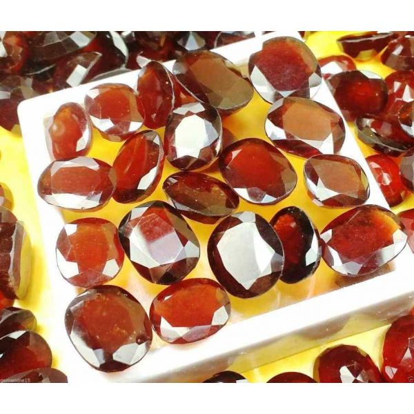 African Hessonite 6 to 12 CT Wholesale Lot Gemstone