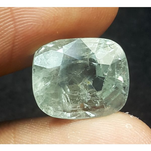 9.50 Carats Natural Sea Green Sapphire 12.20x10.10x7.60 mm