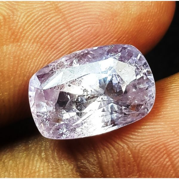 7.82 Carat Natural Purple Sapphire 13.25 x 8.99 x 7.40  mm