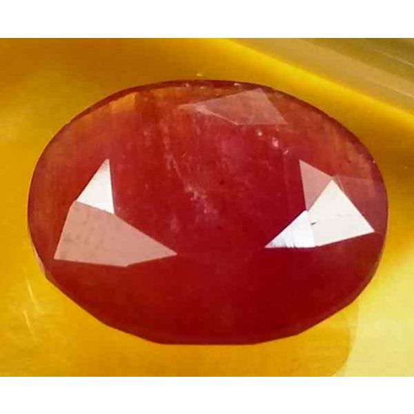 5.43 Carats Guinea Mines Ruby 12.81 x 11.40 x 3.75 mm