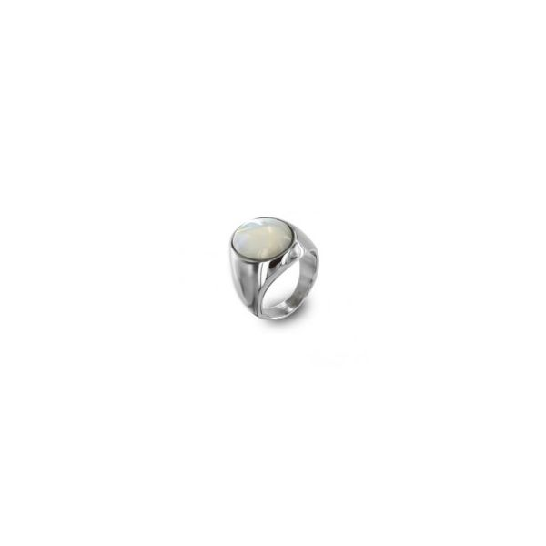 Natural Pearl Sterling Silver Ring - P2