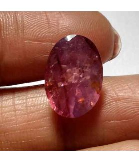 7.34 Carat Purplish Pink Sapphire Natural Ceylon Mines Gemstone