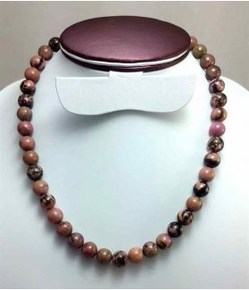 450 CT Rhodolite Rosary BEAD SIZE 10 MM (LENGTH 19 INCH)
