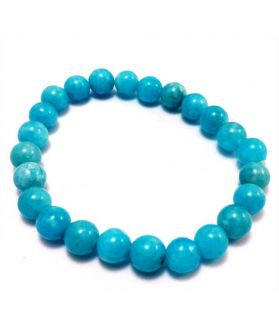 Aquamarine Bracelet 27 Gram (Length 8 Inch)