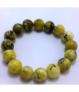 195 CT Serpentine Bracelet Bead Size 12 MM (Bracelet Length 8 Inch)