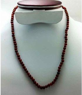 Red Jasper Rosary 14 Gram (Length 19 Inch)