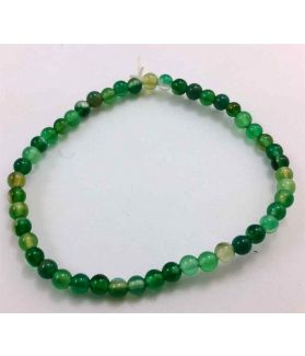Dark Green Jade Bracelet 4 Gram (Length 8 Inch)