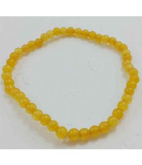 Lemon Yellow Jade Bracelet 5 Gram (Length 8 Inch)