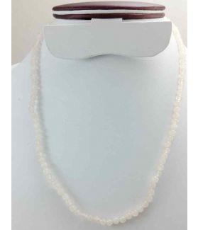 White Jade Rosary 12 Gram (Length 19 Inch)