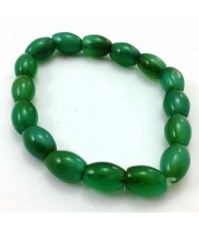 Green Jade Bracelet 20 Gram (Length 8 Inch)