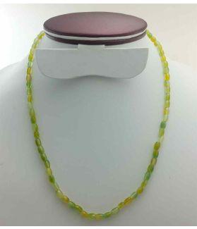Light Green Jade Rosary 13 Gram (Length 19 Inch)