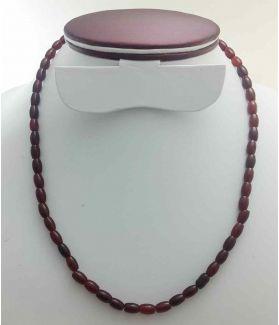 Dark Brown Jade Rosary 19 Gram (Length 19 Inch)