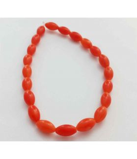 Red Coral Bracelet 8 Gram (Length 8 Inch)
