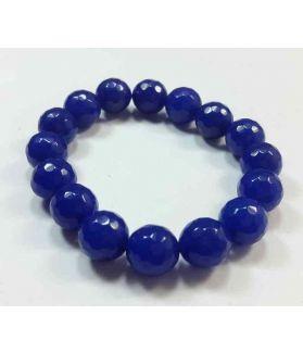 Blue Jade Bracelet 35 Gram (Length 8 Inch)