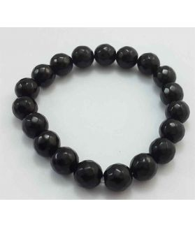 Black Jade Bracelet 25 Gram (Length 8 Inch)