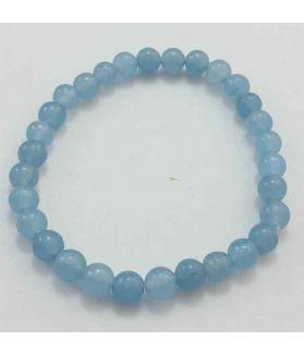 Blue Jade Bracelet 11 Gram (Length 8 Inch)