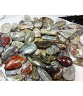 100 % Natural Crazy Lace Agate Wholesale Lot Gemstone