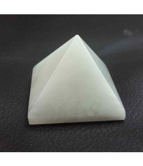 White Agate  Pyramid