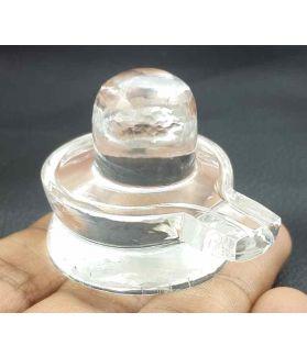27 Gram Crystal Shivling 38 x 27 x 28 mm