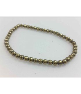 Pyrite Bracelet 4 mm