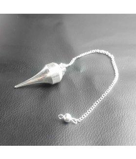 Healing Italian Silver Pendulum 43 x 17 mm