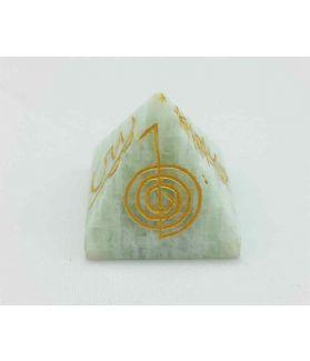 Healing Amazonite Gemstone Pyramid 29 x 31 mm