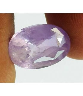 7.89 Carats Bluish Purple Sapphire Oval Shaped 14.45x9.93x6.14 mm