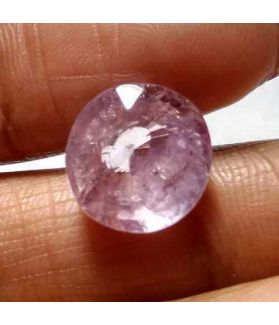 8.43 Carat Purplish Pink Sapphire Natural Ceylon Mines Gemstone
