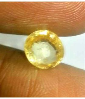 1.70 CT Ceylon Yellow Sapphire 100 % Natural Gemstone