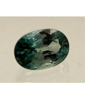 4.14 Carats Aqua Blue Zircon Oval shape 10.00x7.10x5.30mm