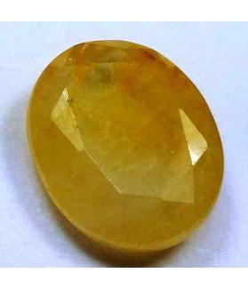 9.01 Carats Ceylon Yellow Sapphire 14.27 x 11.69 x 4.76 mm