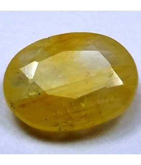 3.25 Carats Ceylon Yellow Sapphire 10.95 x 8.59 x 3.56 mm