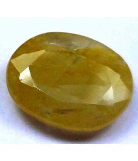 3.84 Carats Ceylon Yellow Sapphire 11.45 x 9.14 x 3.54 mm