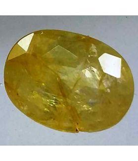 2.72 Carats Ceylon Yellow Sapphire 9.78 x 7.41 x 4.39 mm