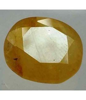 4.90 Carats Ceylon Yellow Sapphire 10.78 x 9.82 x 4.48 mm