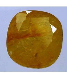 5.01 Carats Ceylon Yellow Sapphire 9.81 x 9.10 x 5.81 mm