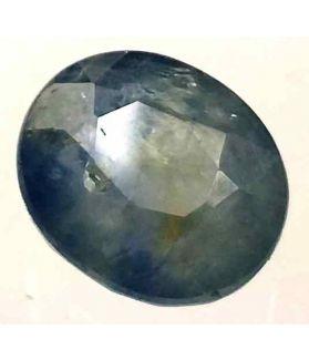 5.89 Carats Ceylon Blue Sapphire 10.77 x 9.25 x 5.70 mm