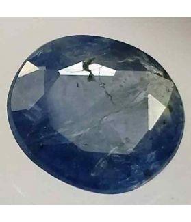 3.76 Carats Ceylon Blue Sapphire 10.24 x 9.26 x 4.36 mm