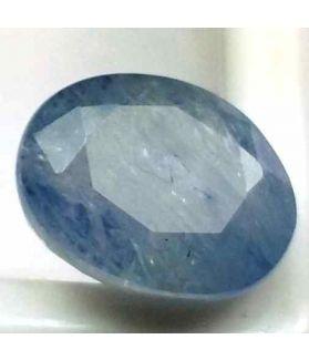 10.98 Carats Ceylon Blue Sapphire 13.26 x 10.29 x 8.25 mm