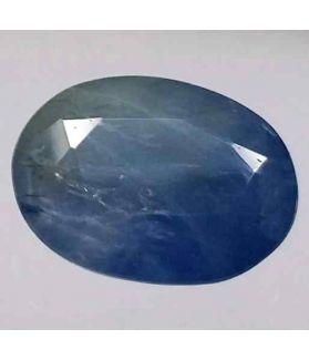 6.15 Carats Ceylon Blue Sapphire 12.48 x 9.27 x 5.42 mm
