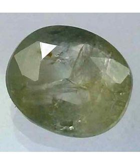 3.96 Carats Ceylon White Sapphire 10.23 x 8.77 x 4.53 mm