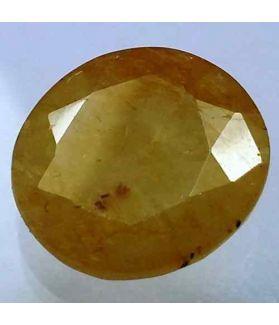 9.15 Carats Ceylon Yellow Sapphire 14.05 x 12.82 x 4.72 mm