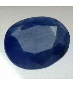4.81 Carats Ceylon Blue Sapphire 10.62 x 8.70 x 5.48 mm