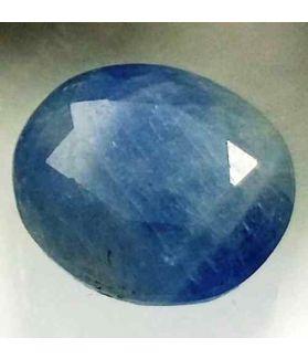 6.15 Carats Ceylon Blue Sapphire 11.68 x 10.29 x 5.12 mm