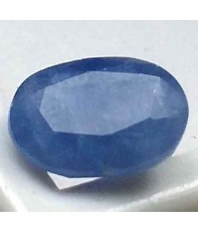 4.38 Carats Ceylon Blue Sapphire 10.31 x 7.45 x 6.18 mm