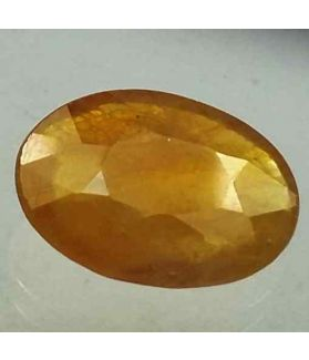 6.61 Carats African Yellow Sapphire 14.51 x 10.93 x 4.10 mm