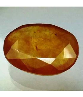 8.44 Carats African Yellow Sapphire 14.95 x 11.90 x 4.11 mm