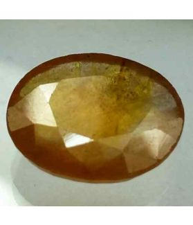 7.27 Carats African Yellow Sapphire 13.76 x 12.29 x 3.91 mm