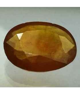 9.25 Carats African Yellow Sapphire 15.39 x 11.96 x 4.55 mm