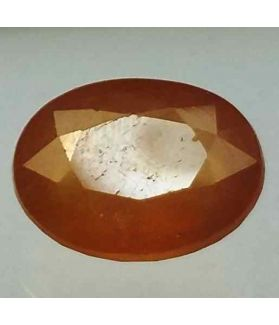 9.26 Carats African Yellow Sapphire 13.46 x 10.36 x 6.52 mm